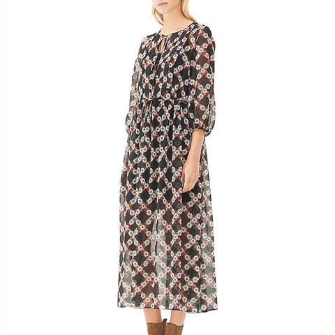 Rebell Daisy Print Dress