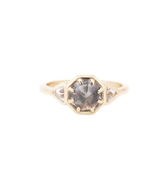 Lauren Wolf Jewelry Gray Three Diamond Ring