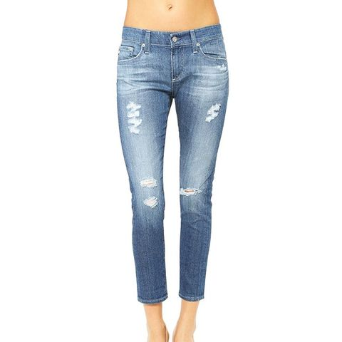 The Nikki Crop 14 Years Open Air Rip Jeans