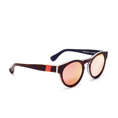 Voyager 14 Sunglasses With Rose Gold Lenses and Pink Coral