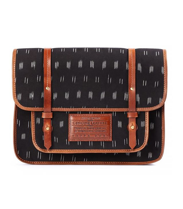 The Little Market Large Ikat Satchel