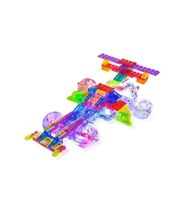 Laser Pegs Tinted 12-in-1 Race Car Set
