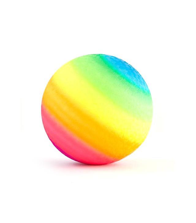 Land of Nod Rainbow Playground Ball