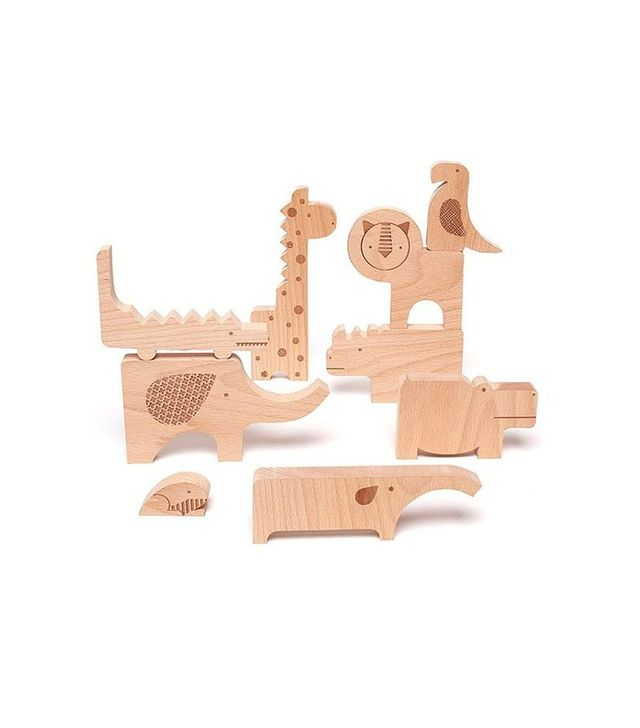 Wild Wood Safari Puzzle Blocks