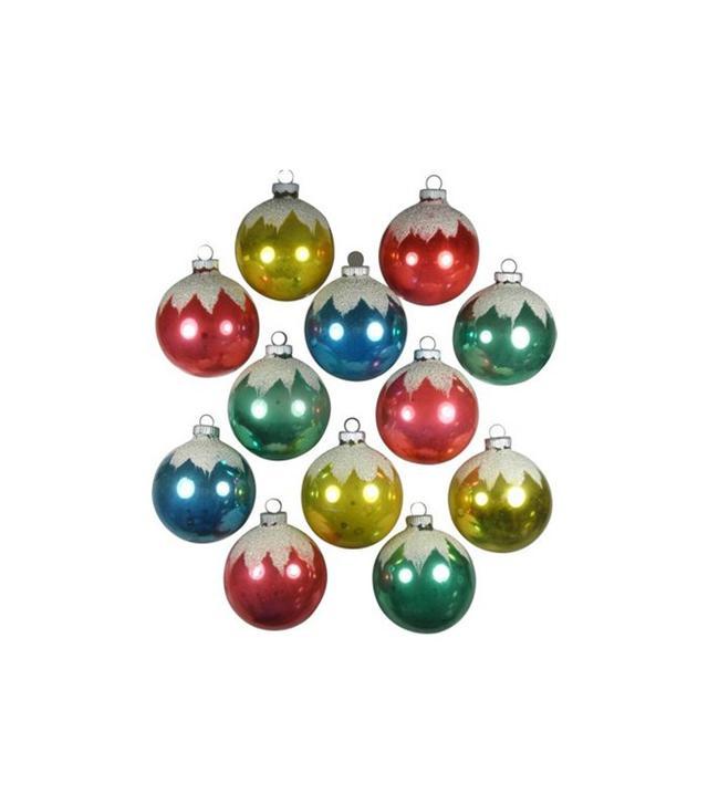 Shiny Bright Snowcap Ornaments