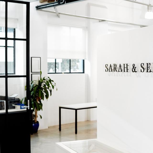 Office Tour: Inside Sarah & Sebastian's Minimalist Sydney Studio
