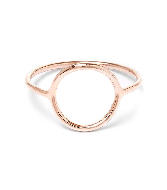 Maria Black Rose-Gold Plated Ring