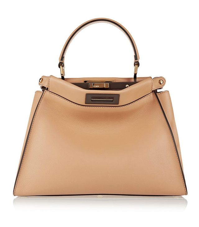 Fendi Peek-a-boo Leather Tote
