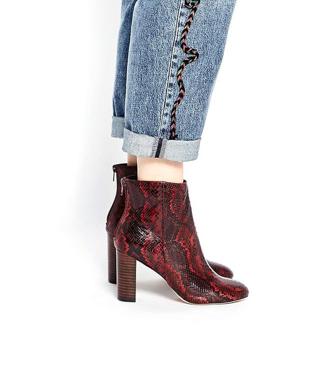 ASOS End It On This Ankle Boots