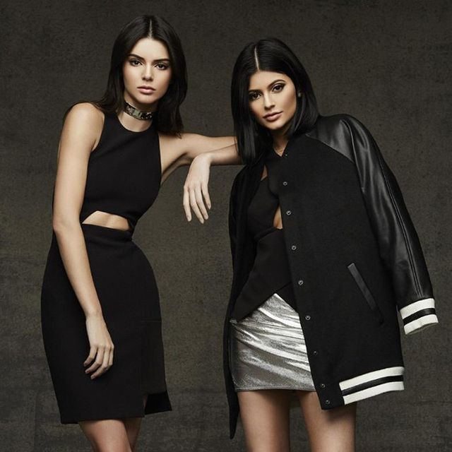 See Kendall and Kylie's Christmas Collection for Topshop