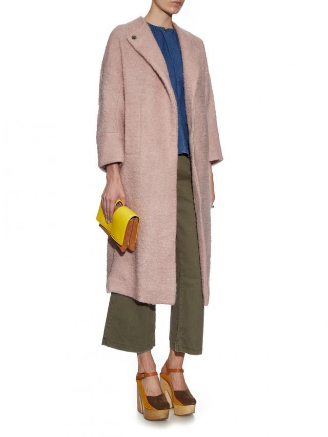 Rachel Comey Trail Wool-Blend Bouclé Coat