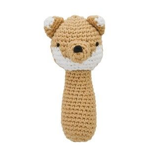 Kido Store Crochet Fox Rattle