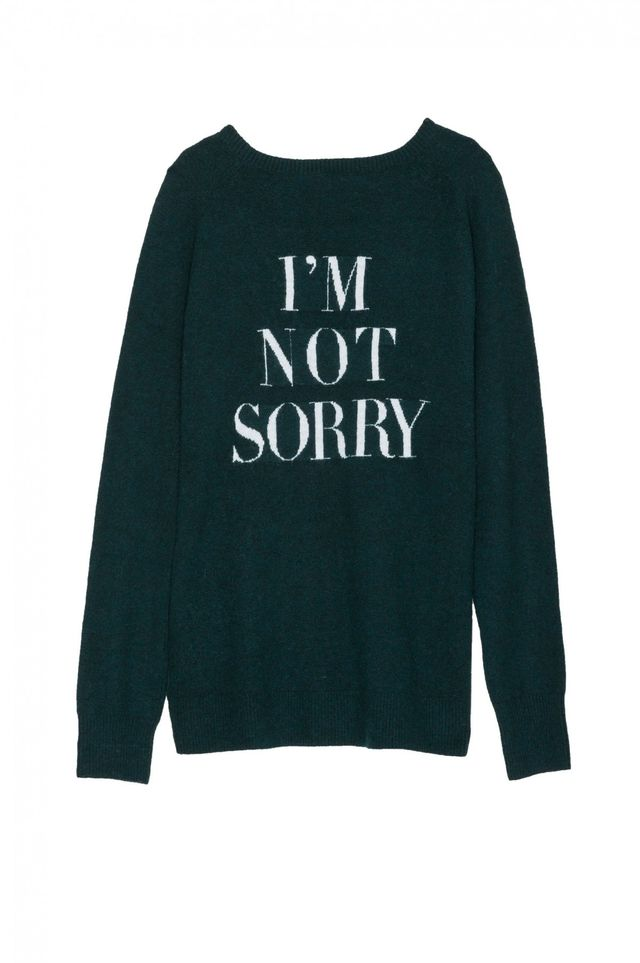 Pam & Gela I'm Not Sorry Sweater