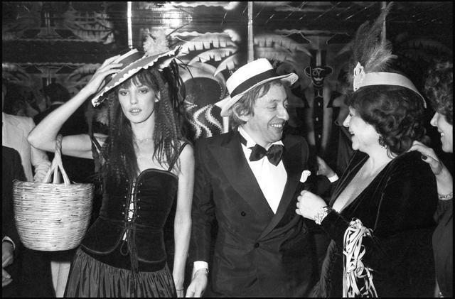 Jane Birkin and Serge Gainsbourg in 1977