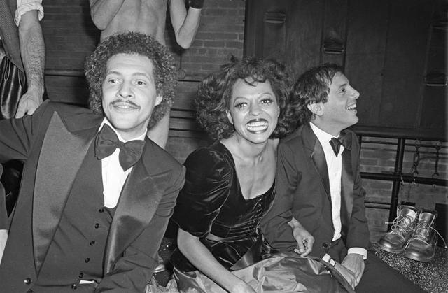 Diana Ross at Studio 54 in 1978
