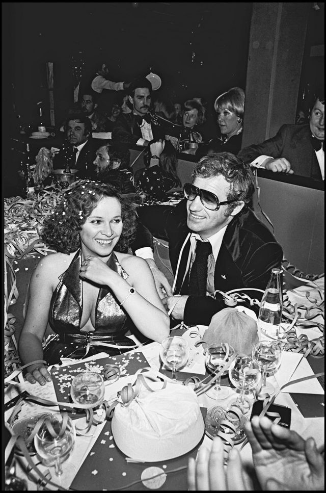 Laura Antonelli and Jean-Paul Belmondo in 1976