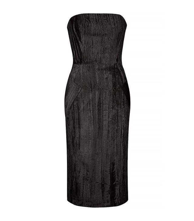 Topshop Unique Mayall Midi Dress
