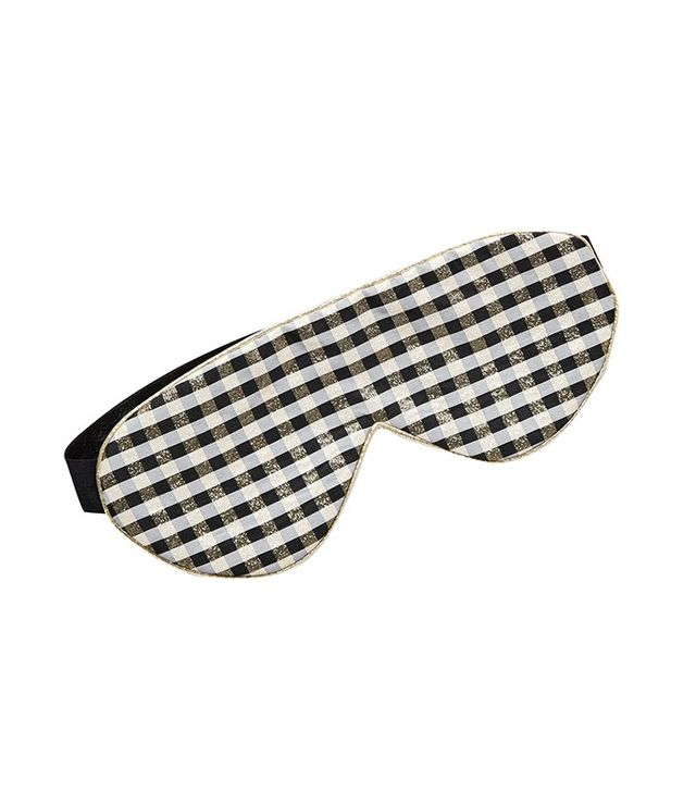 Perpetual Shade Gingham Sleep Mask