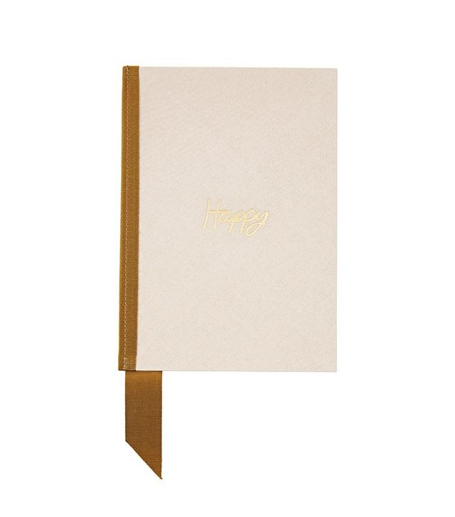Lanvin Grosgrain-Trimmed Canvas Notebook