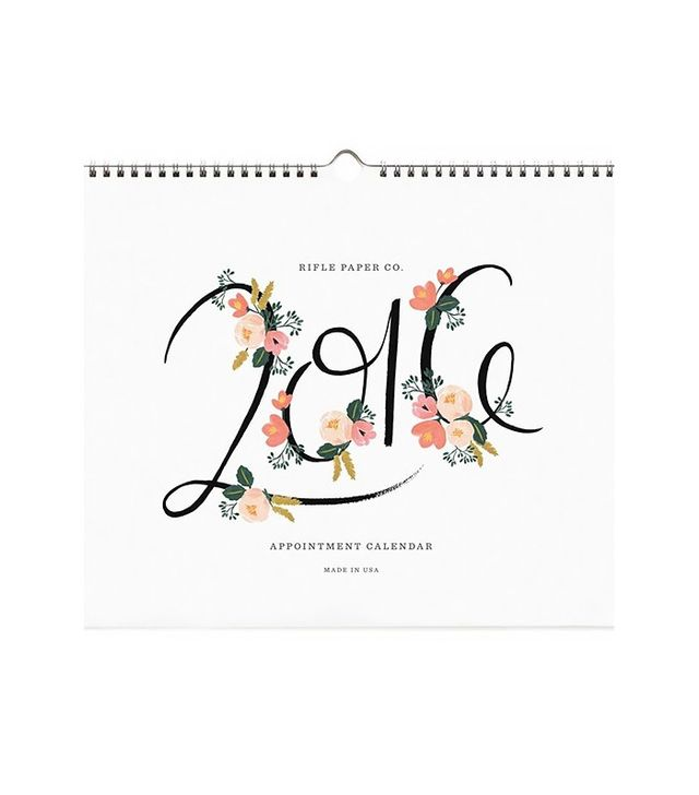 Rifle Paper Co. 2016 Appointment Calender