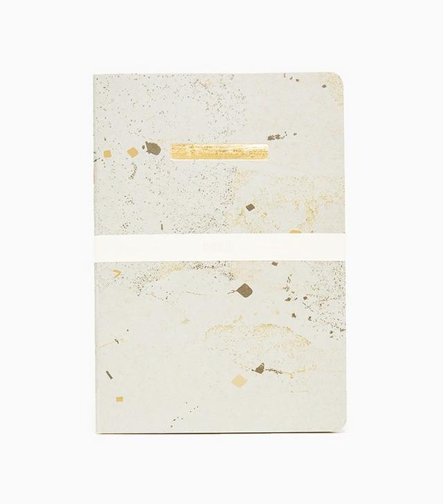Arminho Gold Bar Notebook Blank