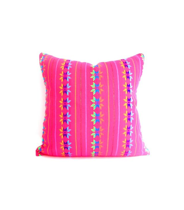 City Girls Decor Pink Tribal Pillow