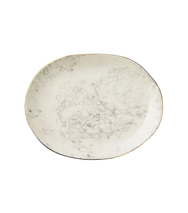 One Kings Lane Marbleized Serving Platter