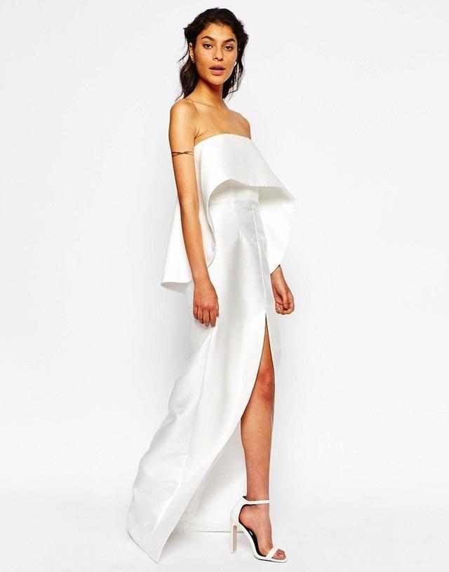 Solace London Chakra Layered Maxi Dress