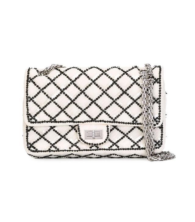 Chanel Vintage Sequin Flap Bag