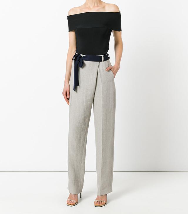 Victoria Beckham Overlap Trousers