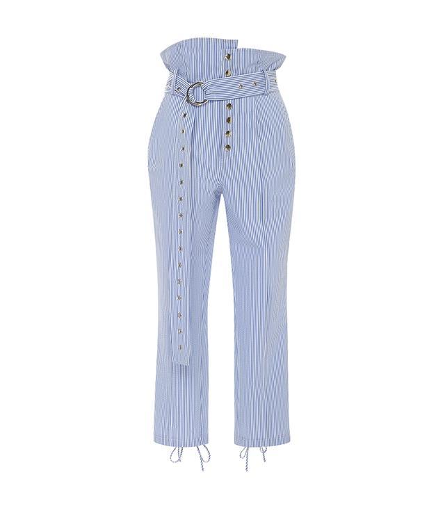 Marissa Web Gia Searsucker Stripe Pant