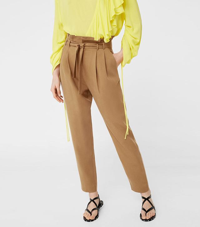 Mango Soft Cord Pants