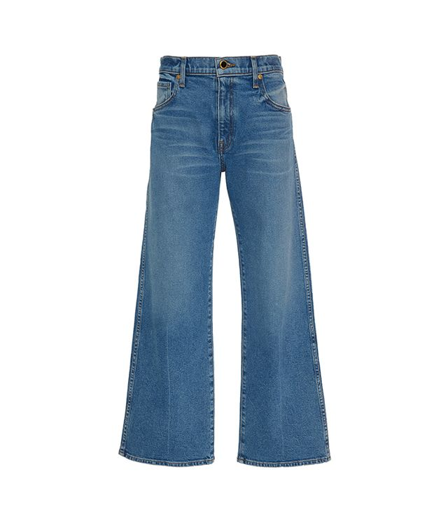 Khaite Wendall Cropped Jean