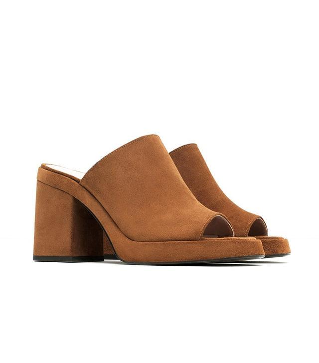 Zara Step-In Sandals