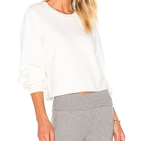 Cropeed Pullover Sweatshirt