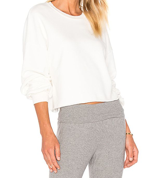 Lacausa Cropeed Pullover Sweatshirt