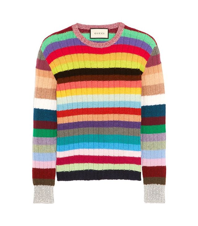 Gucci Cashmere and Wool-Blend Sweater