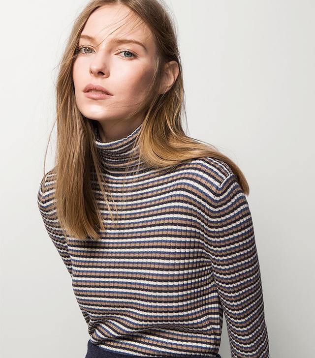 Massimo Dutti Ribbed Sweater