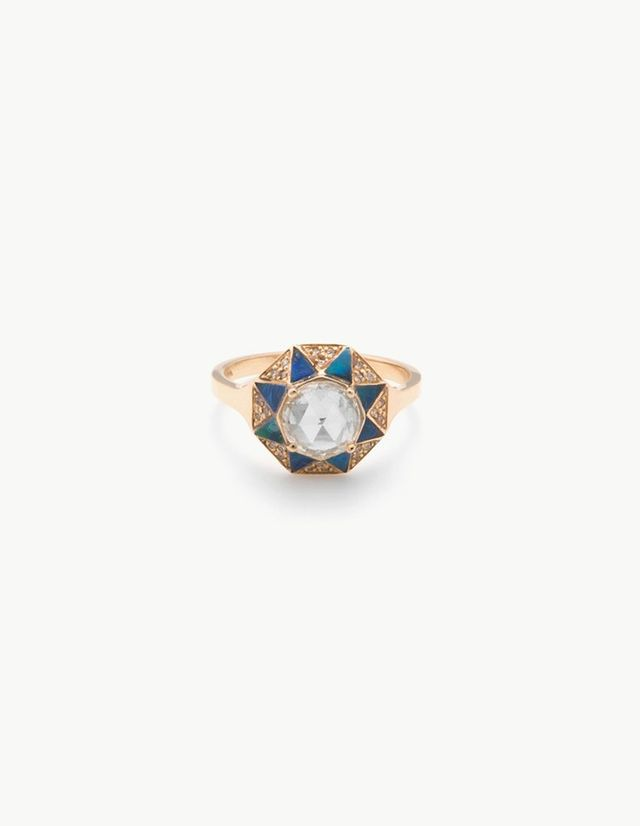 Kathryn Bentley Octagon Ring