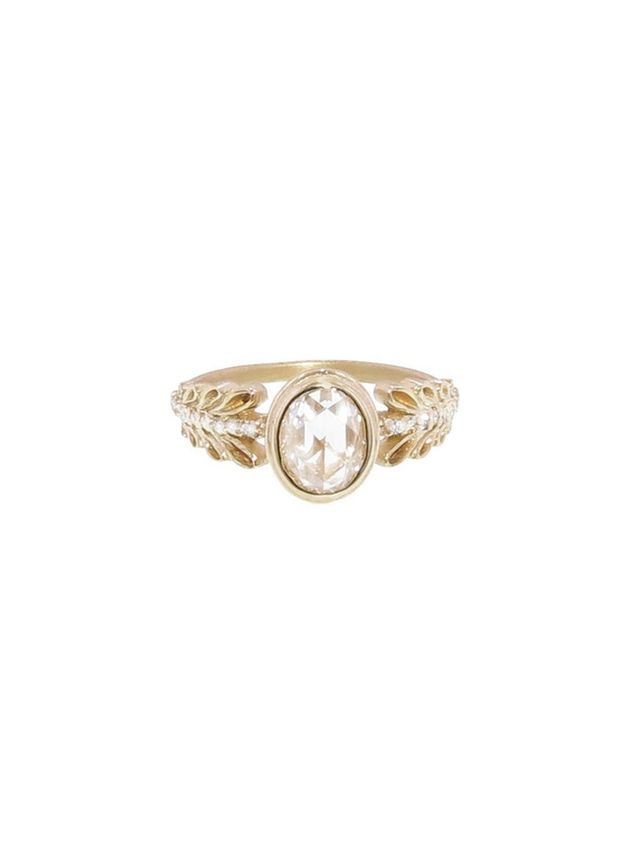 Megan Thorne Marina Garland Pave Ring