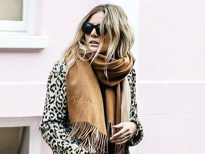 oversize blanket scarves