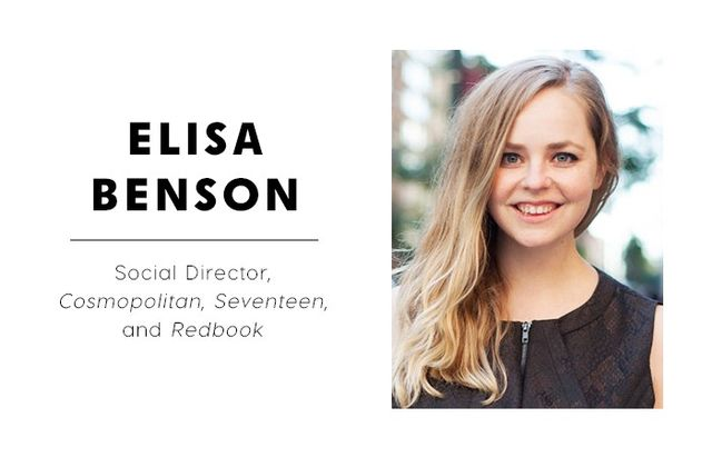 WHO WHAT WEAR: What are some of the reactions you get when you tell people you're a social media editor? ELISA BENSON: When I explain that my job is to oversee all the social channels for...