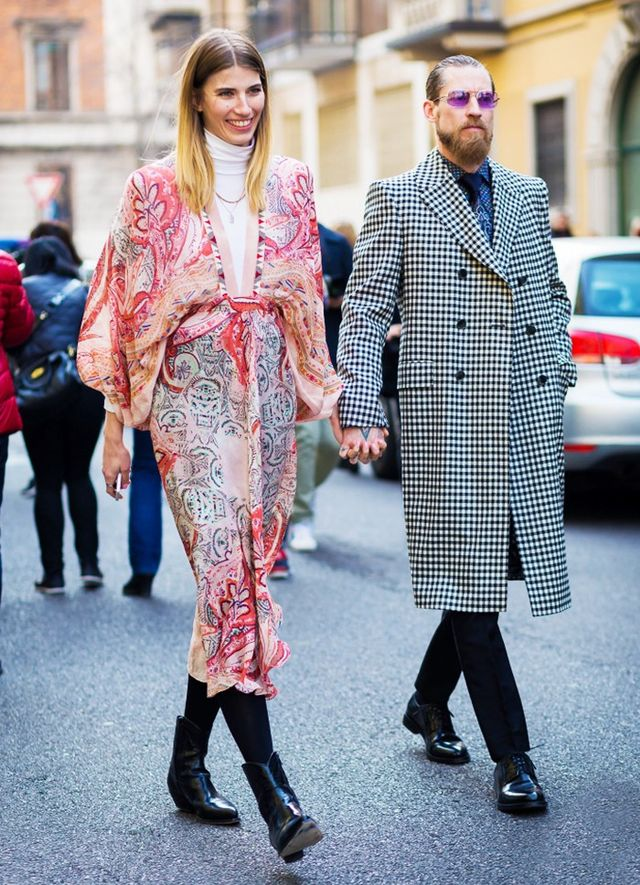 Best StreetStyleCouple: Veronika Heilbrunner and Justin O'Shea If you're not already familiar with fashion's power couple Veronika Heilbrunner and Justin O'Shea,...