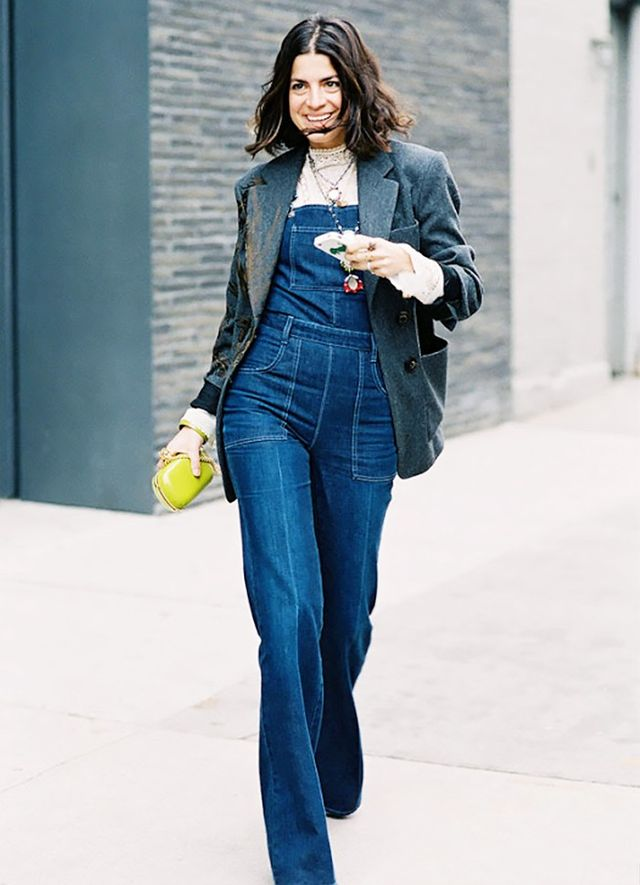 Owns New YorkStyle: Leandra Medine When we think of New York fashion girls, Leandra Medine immediately comes to mind. Her look is every bit as exciting and unapologetic as the city itself....