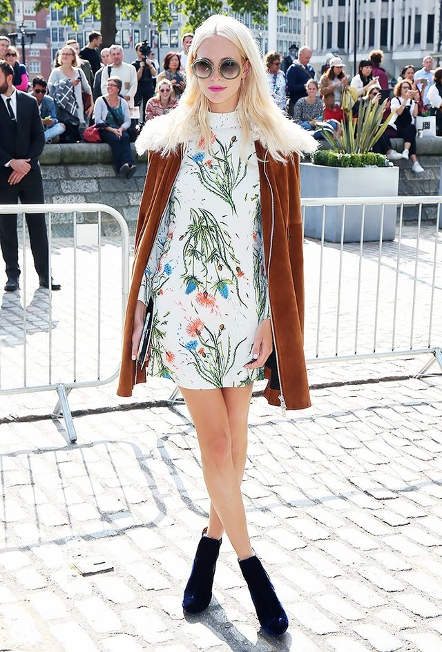 Owns LondonStyle: Poppy Delevingne If there's anything we learned from our time with Poppy Delevingneearlier this year, it's that she is A) a total girl's girl and...