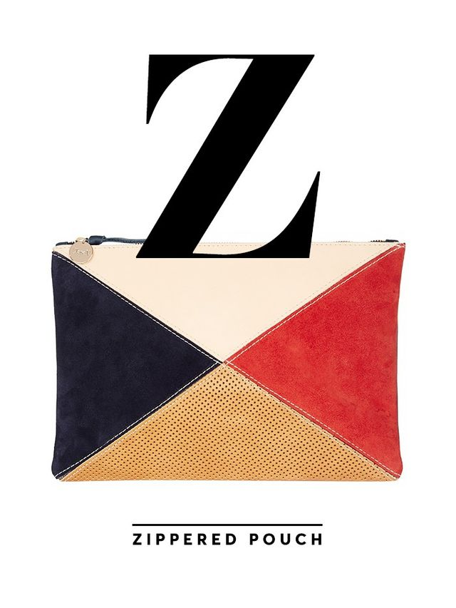 Clare V. Zippered Pouch