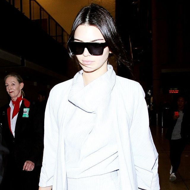 Only Kendall Jenner Could Get Away With Wearing This at the Airport