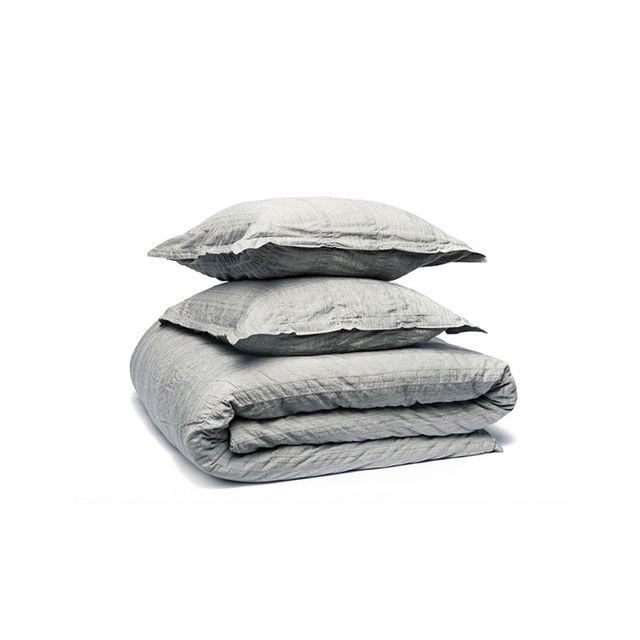 Parachute Duvet Cover Sets in Heathered Stripe