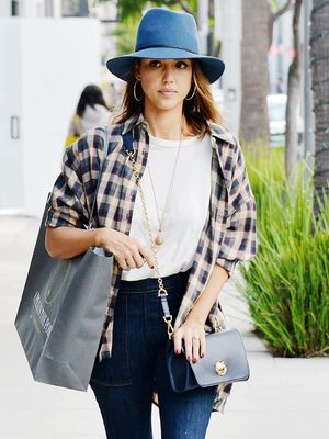 Shop the Brand Behind Jessica Alba's Fall Flannel