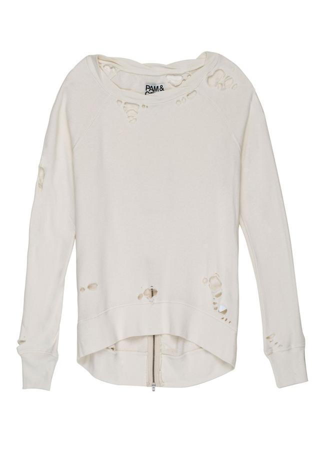 Pam & Gela Destroyed Annie Sweatshirt
